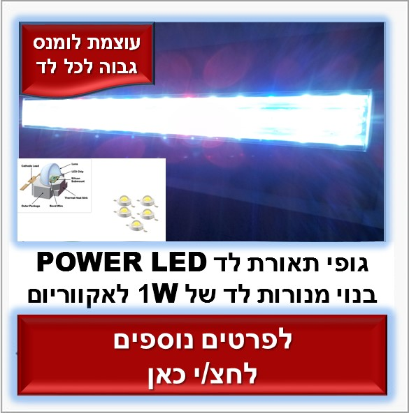 POWER LED XL גופי תאורה